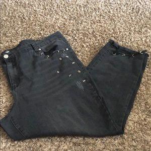 Almost Famous Destructive Jeans
